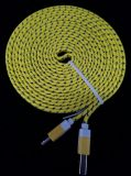 10ft Yellow Android charging cords