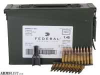 For Sale: Federal 62gr 5.56 XM855 420rd can