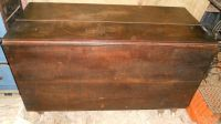 Antique, old walnut drop leaf table