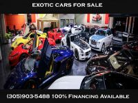 ** EXOTIC / LUXURY CARS FOR SALE ***