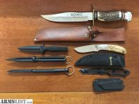 For Sale: Knives, Knives, Knives