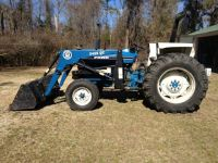 Ford 4610 tractor wloader for sale