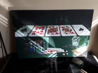 Poker framed picture