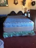 Queen Size Pillowtop Complete Bed