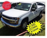 2008 Chevrolet Colorado 2WD Reg Cab 111.2