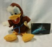"2000 Disney ""FANTASIA"" Donald Duck Sorcerer 8"" Plush with Tags"