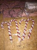 Outdoor Christmas Candy Canes