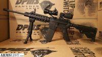 For Sale: New Unfired AR15 Rifle with Red Dot, 3x Magnifier, Quad Rail, Flip up Iron Sights, and Fore Grip Bi Pod DPMS AR 15