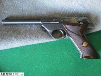 For Sale: MINT! High Standard Sport King 22 Target Pistol
