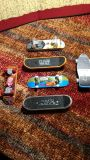 "Six Miniature 4"" Collectible Skateboards (see extra pictures for reverse)"