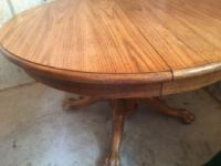 Nice Wood Table with 5 Chairs - Great Condition