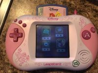 Leapfrog leapster 2 handheld with cartridges