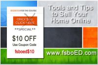 FSBO Tools and Tips to Sell Your Home Online Course $10 Off