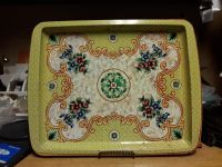 Large daher tin serving tray or wall decor