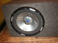 12 power acoustic subwoofer in box