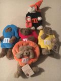 Boyd s bears collectible M&M plush bears.