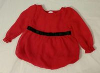 Pretty Red Blouse (6-9mos.)