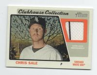 BOSTON RED SOX / CHICAGO WHITE SOX CHRIS SALE JERSEY CARD