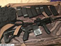 For Sale: SIG M400 ENHANCED AR-15 QUAD RAIL WITH MAGPUL