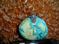 NATURAL UNTREATED TIBET TURQUOISE FANCY CABOCHON GEMSTONES CHARM