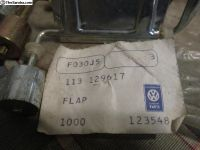 NOS Air Cleaner Flaps 113 129 617