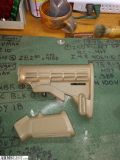 For Sale: Coyote tan ar15 furniture