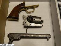 For Sale: Antique COLT 1849 (Rough and Missing Parts