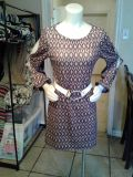 60's inspired dress large