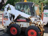 2012 BOBCAT BOBCAT S205 SKID STEER SKID STEERS