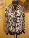 Juicy Couture Leopard Print Velour Hoodie's New