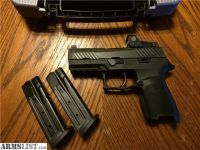 For Sale: Sig Sauer P320C RX 9mm Romeo 1 Reflex Red Dot
