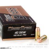 For Sale: Blazer .40 cal 165 grain