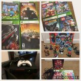 Xbox 360 and lots of games!!
