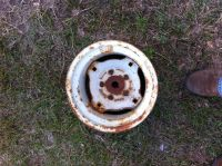 Tractor front rims (Firestone) old