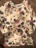 Justice Brand Lots Of Dogs Adorable Long Sleeve Shirt. Very Like New Condition. Size 10- Please Read Below!