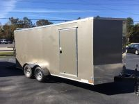 2018 DIAMOND CARGO 7X16 TA V-NOSE ENCLOSED TRAILERS, ENCLOSED TRAILERS, ENCLOSED TRAILERS, ENCLOSED TRAILERS, ENCLOSED TRAILERS