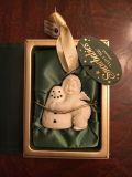"""Snow Babies """"I Love You"""" ornament. New in box."""