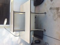 FREE computer desk with lamp and all the cables