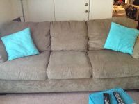 Ashley brand couch and love seat