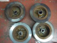 EMPI 4 bolt rotors front and rear