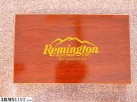 For Sale: Remington Sportsman Series Commemorative three knife set in wood presentation box