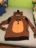 Five Nights at Freddy s Light weight zip up jacket NWT