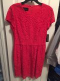 NWT Donna Morgan red dress