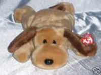 2000 Ty Beanie Buddies Bones the Dog ( 13 1/2 inches