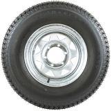 """Sell 15"""" GALVANIZED WHEEL-225/75/15 BOAT-CAMPER TRAILER SPARE RIM +TIRE (WHEEL-15G) motorcycle in West Bend, Wisconsin, US, for US $124.99"""