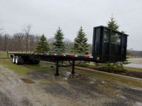 $19,900, 2006 Great Dane Trailers 48 Foot Flatbed Moffett Trailer
