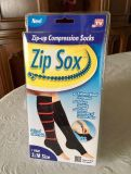 New Zip Up Compression Socks. Size S/M - Offer #2 of 2