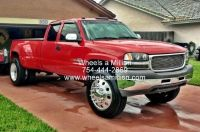 Sell 22.5's ALCOA CLASSICS DUALLY WHEELS W/NEW TIRES FORD DODGE CHEVY RIMS motorcycle in Pompano Beach, Florida, US, for US $2,999.00