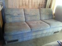 RV sofa bed MAKE OFFER trade for grocery (Bacliff)