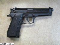 For Sale: Beretta 92FS 9mm SA/DA Semi Auto Pistol w/ Upgraded Hammer